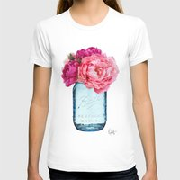 rose T-shirts featuring Perfect Mason  by Xchange Art Studio