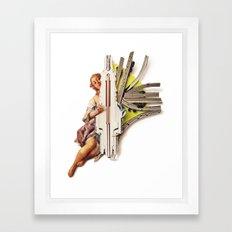 Sparklette | Collage Framed Art Print