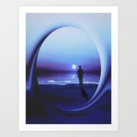 LANDSCAPE - Twilight Zon… Art Print