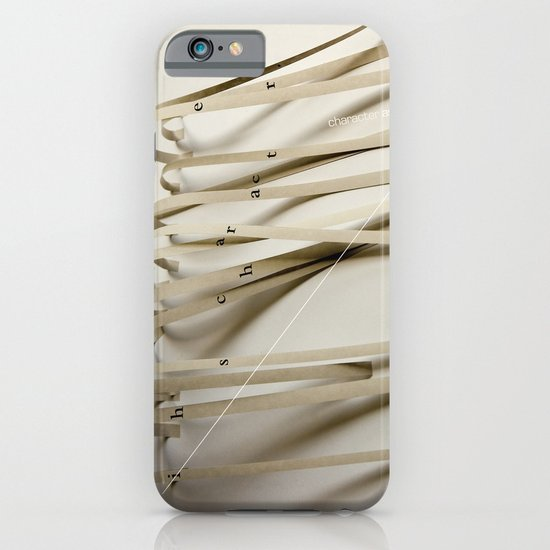 Character Assassination iPhone & iPod Case