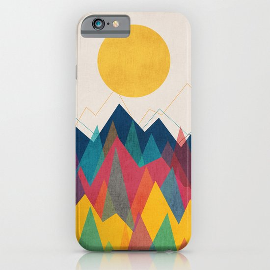 Uphill Battle iPhone & iPod Case
