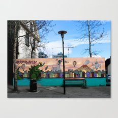 Colorful Place to Sit Canvas Print