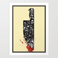 foul deeds Art Print