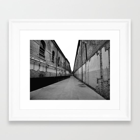 SWAMP VENICE III Framed Art Print