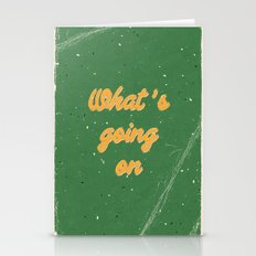 What' s going on Stationery Cards