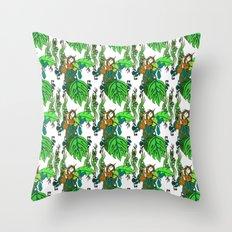 Jamaican Botanicals - Fruit Throw Pillow