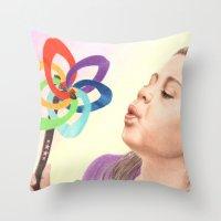 Child's Toy Throw Pillow