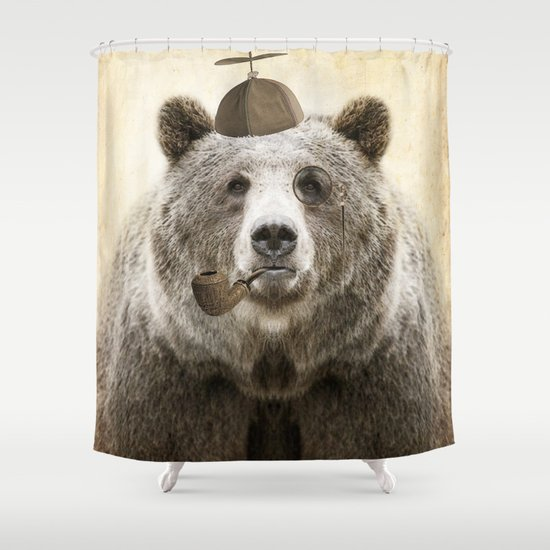 Bear Necessities Shower Curtain