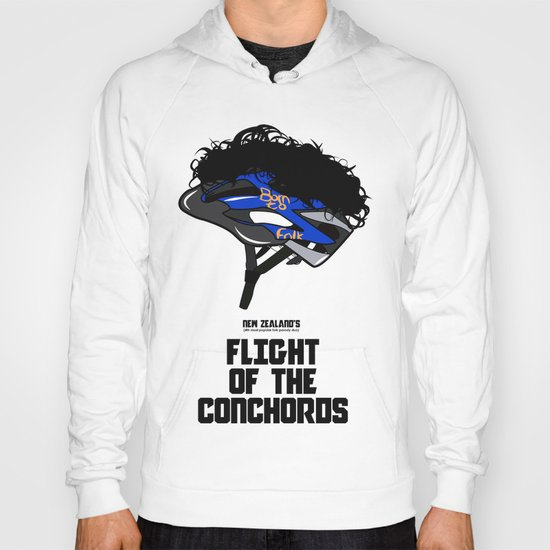 Flight of the Conchords - Hair Helmet Hoody