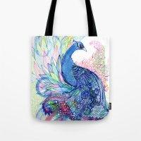 Blue Wild Tote Bag