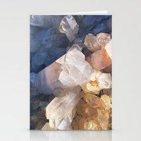 Quartz Crystal Stationery Cards