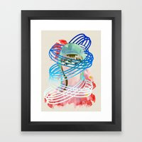 Olga Framed Art Print