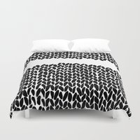 Missing Knit     Duvet Cover