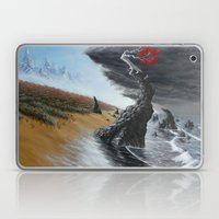 breaking the tide Laptop & iPad Skin