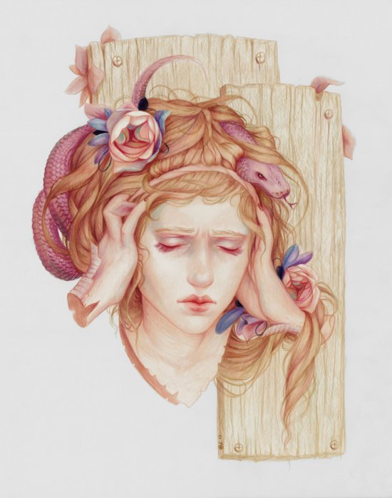 Sensory Overload Art Print