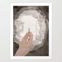 The Bloody Chamber Art Print
