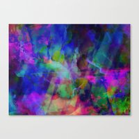 summer dye Canvas Print