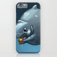 Burger Shark iPhone 6 Slim Case
