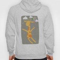 Giraffe In The Rain Hoody