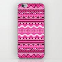 Pink #3 iPhone & iPod Skin