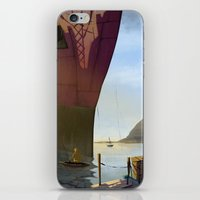 ANGRY FISHER iPhone & iPod Skin