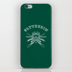 SLYTHERIN iPhone & iPod Skin