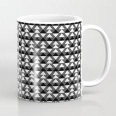 Black & White Triangles Mug