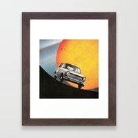 Il Viaggio Framed Art Print