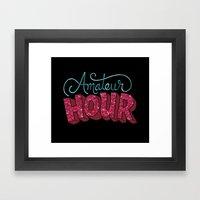Amateur Hour Framed Art Print