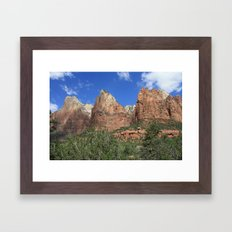 Court of the Patriarchs Framed Art Print