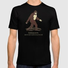 The Samsquanch (Anthropoidipes Sunnyvalis) Mens Fitted Tee Black SMALL