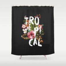 Tropical II Shower Curtain