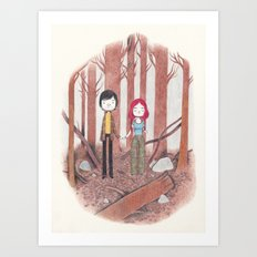 eternal sunshine of the spotless mind Art Print