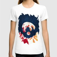 North Womens Fitted Tee White SMALL