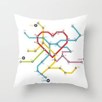 Home Where The Heart Is Throw Pillow