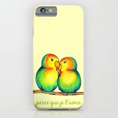 Love Birds on a Branch iPhone 6 Slim Case