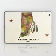 Rhode Island State Map M… Laptop & iPad Skin