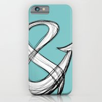 iPhone & iPod Case featuring amptwo - Ampersand Study by Jennifer Coyle