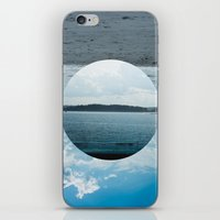 Split Screen Island iPhone & iPod Skin