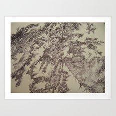 Digital Bunny-Segment 210 Art Print