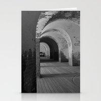 Fort Pulaski B&W Stationery Cards