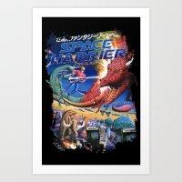 Space Harrier Art Print