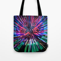 Night Light 144 - Wheel Tote Bag