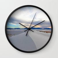White Sands No. 2 Wall Clock
