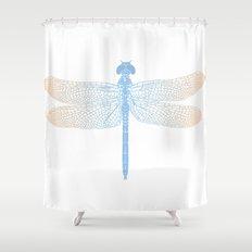 dragonfly v2 Shower Curtain