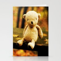Taking the weight off my Paws Stationery Cards