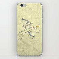 I am the Bad Wolf and I create myself!! iPhone & iPod Skin
