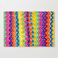 CRAYON LOVE: Cray Tribal Canvas Print