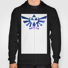 The Legend of Zelda Triforce Blue Hoody