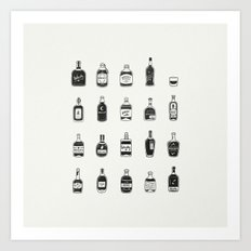 Lil' Whiskys Art Print